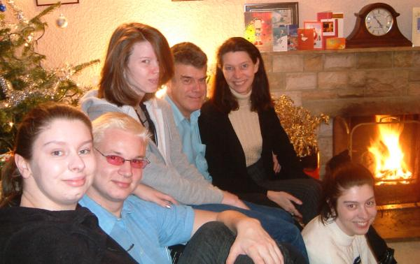 all of us at Christmas 2003