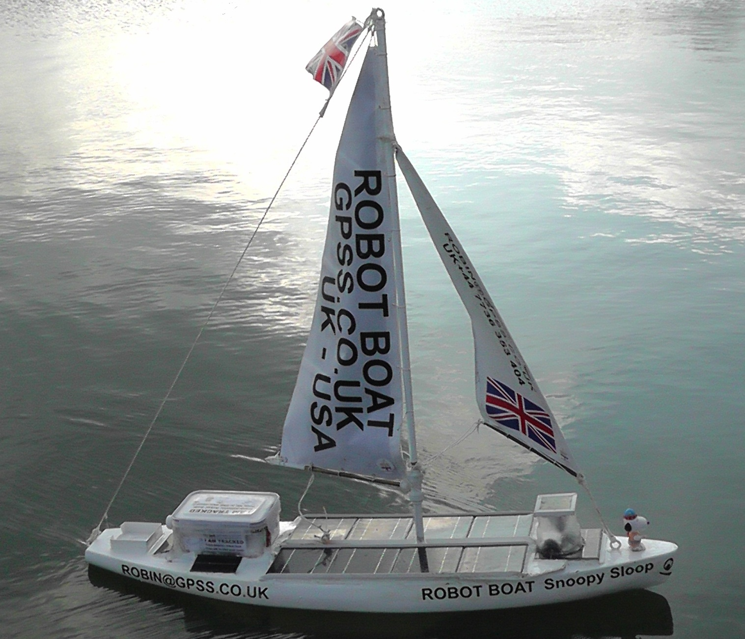 Snoopy Sloop 9 built for the 2013 Trans-Atlantic attempt