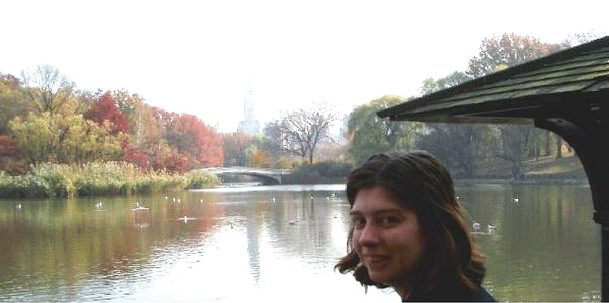 Samantha in Central Park, NY